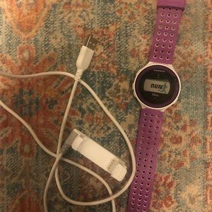 Garmin forerunner 220 watch